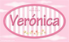 Verónica - Nombre decorativo