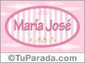 Maria José - Nombre decorativo