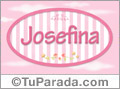 Josefina - Nombre decorativo