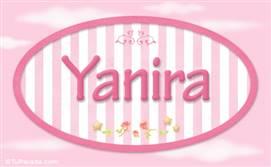 Yanira - Nombre decorativo