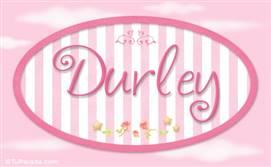 Durley - Nombre decorativo