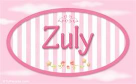 Zuly - Nombre decorativo