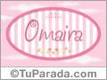 Omaira - Nombre decorativo