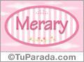 Merary - Nombre decorativo