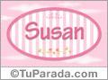 Susan - Nombre decorativo