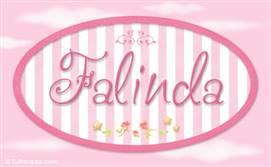 Falinda - Nombre decorativo