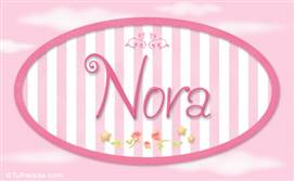 Nora - Nombre decorativo