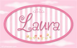 Laura - Nombre decorativo