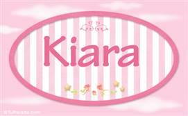 Kiara - Nombre decorativo