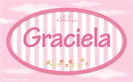 Graciela N nombre decorativo