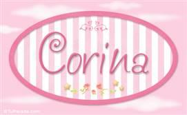 Corina - Nombre decorativo