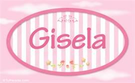 Gisela - Nombre decorativo