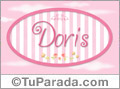 Doris - Nombre decorativo
