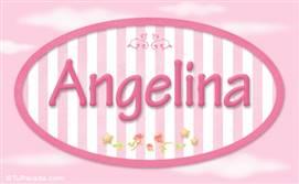 Angelina, nombre para niñas