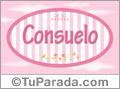 Consuelo - Nombre decorativo