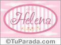 Helena, nombre para niñas