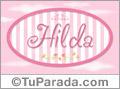 Hilda, nombre para niñas