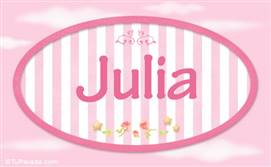Julia, nombre para niñas