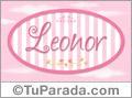 Leonor, nombre para niñas