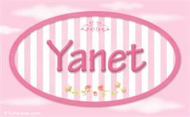Yanet, nombre para niñas