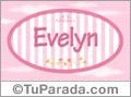 Evelyn, nombre para niñas