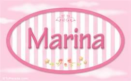 Marina, nombre para niñas