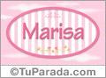 Marisa, nombre para niñas