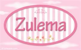 Zulema, nombre para niñas