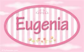 Eugenia, nombre para niñas