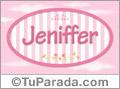 Jeniffer, nombre para niñas