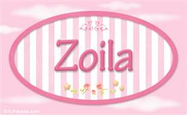Zoila, nombre para niñas