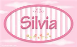 Silvia, nombre para niñas