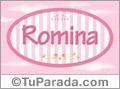 Romina, nombre para niñas