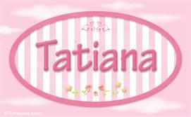 Tatiana, nombre para niñas