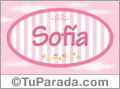 Sofia, nombre para niñas