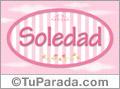 Soledad, nombre para niñas