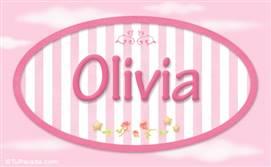 Olivia, nombre para niñas