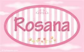 Rosana, nombre para niñas