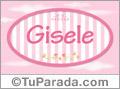 Gisele, nombre para niñas