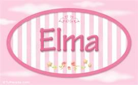 Elma, nombre para niñas