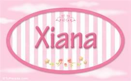 Xiana, nombre para niñas
