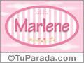 Marlene, nombre para niñas