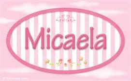 Micaela, nombre para niñas