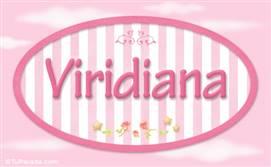 Viridiana, nombre para niñas