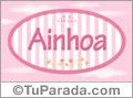 Ainhoa, nombre para niñas