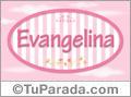 Evangelina, nombre para niñas