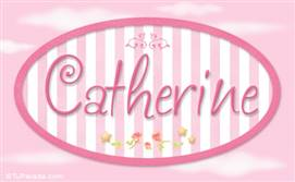 Catherine, nombre para niñas