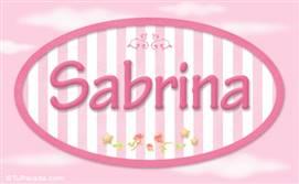 Sabrina, nombre para niñas