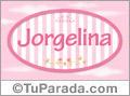 Jorgelina, nombre para niñas