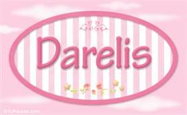 Darelis, nombre para niñas